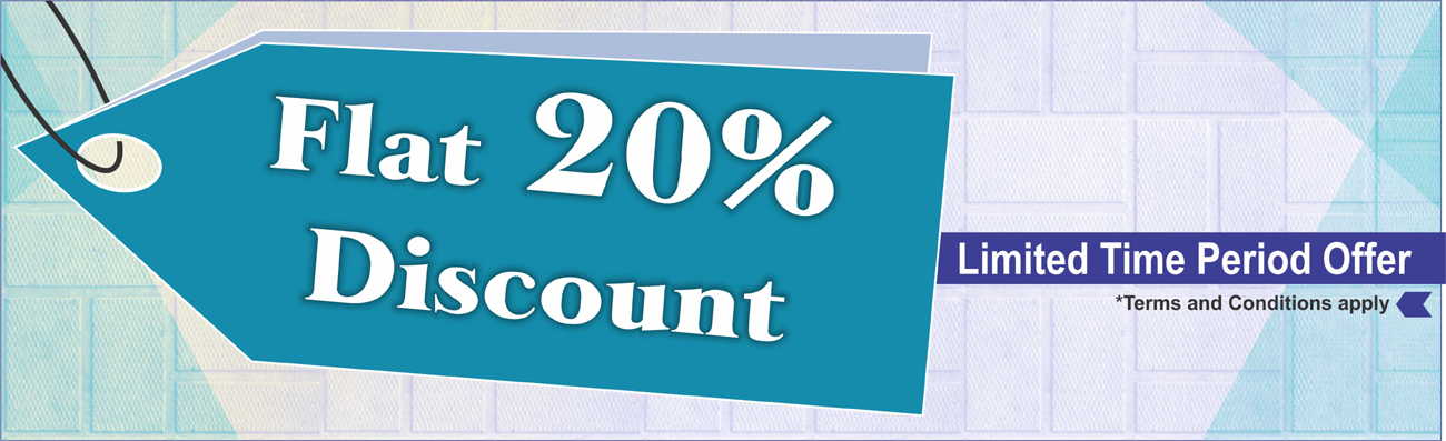 Banner for 20% discount