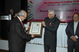 Mr. Asoke Ghosh, Chairman and Managing Director, conferred the Lifetime Achievement Award
