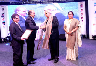 Mr. Asoke K Ghosh, Chairman and Managing Director, has been honoured with Lifetime Achievement Award