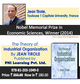 Nobel Memorial Prize in Economic Sciences, Winner (2014) - Jean Tirole