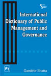 International Dictionary of Public Management and Governance