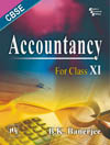ACCOUNTANCY : FOR CLASS XI