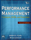 PERFORMANCE MANAGEMENT : CONCEPTS, SKILLS AND EXERCISES