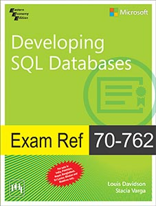 Exam Ref 70-762–Developing SQL Databases