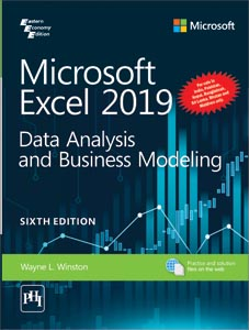 Microsoft Excel 2019 : Data Analysis and Business Modeling