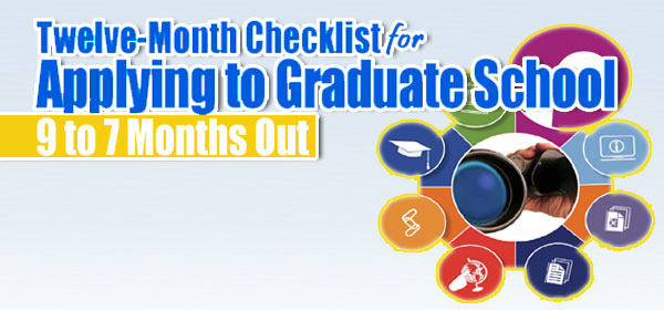 Twelve-Months Checklist for Applying yo Graduate School